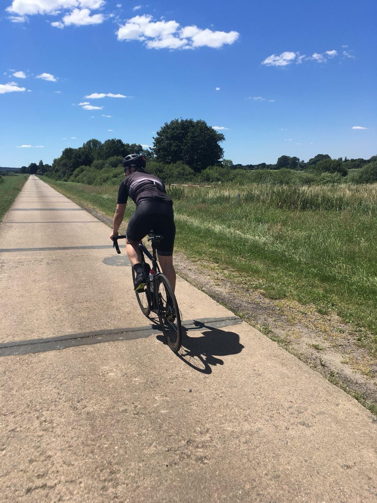 Rennrad Trainingsrouten rund um Hamburg